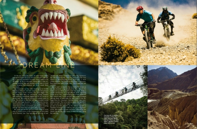 "Feature ""An Uncertain Road"" in BIKE Mag - March 2017"