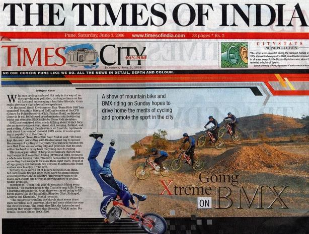 BMXTB 2006 (Times Of India)