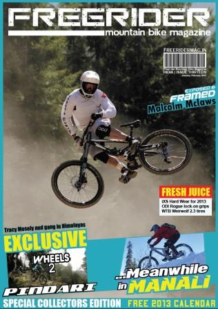 Freerider MTB Mag (India)_COVER_Issue 13_Jan 2013