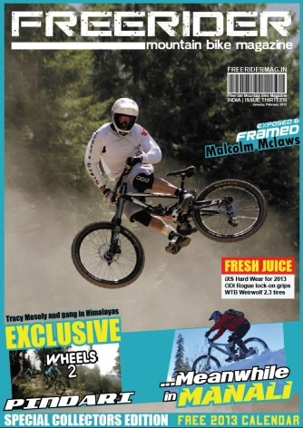 Freerider MTB Mag (India)_COVER_Issue 13_Jan 2013