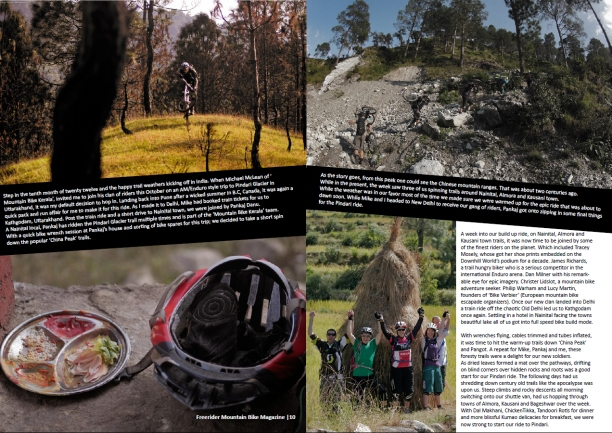 Freerider MTB Mag (India)_Issue 13_Jan 2013 - Page 10-11