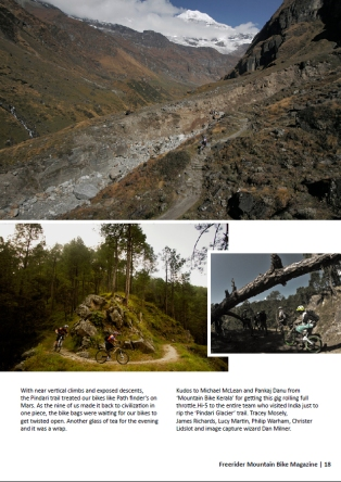 Freerider MTB Mag (India)_Issue 13_Jan 2013 - Page 18