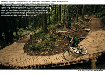 FreeriderMTB Mag (India) _ Issue 12 - Nov 2012_Page 22