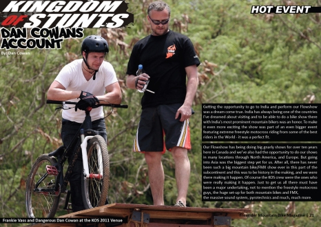Page 21 _ Freerider MTB Mag (India) - May 2012 (Issue 9)