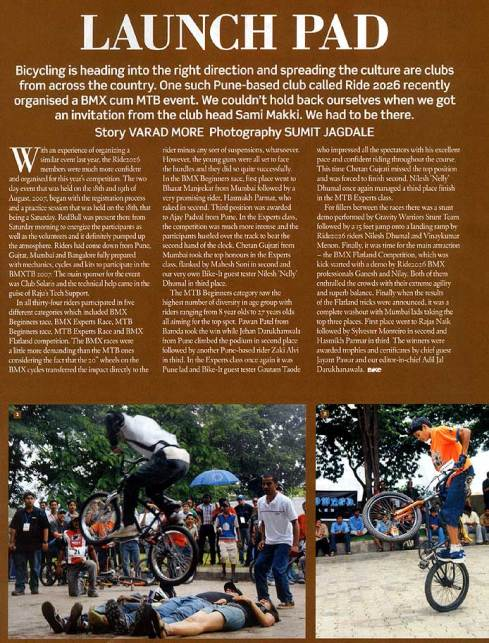 BMXTB 2007 _ BIKE India (Page 2)