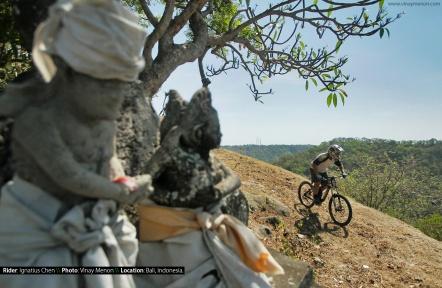 Rider: Ignatius Chen \\ Location: Bali, Indonesia.