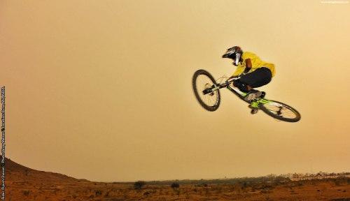 Rider: Piyush Chavan \\ Location: Pune, MH, India.