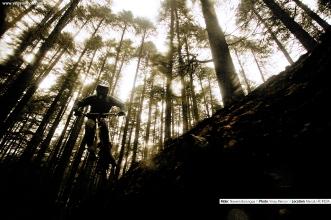 Rider: Naveen Barongpa \\ Location: Manali, HP, India.