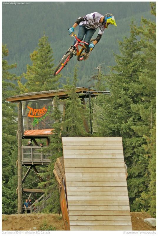 Crankworx 2015 \\ Whistler, BC, Canada