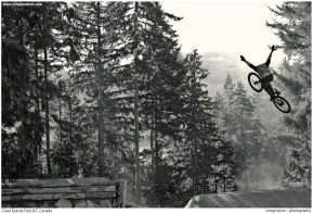 """The Backwoods Jam"" \\ Coast Gravity Park, B.C, Canada."
