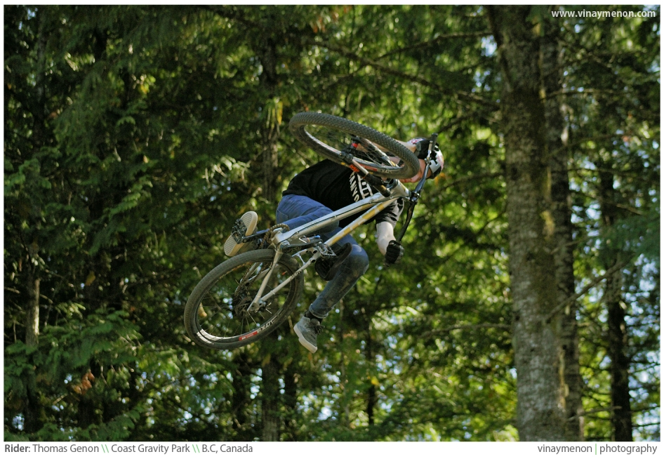 "Rider: Thomas Genon \ ""The Backwoods Jam"" \\ Coast Gravity Park, B.C, Canada."