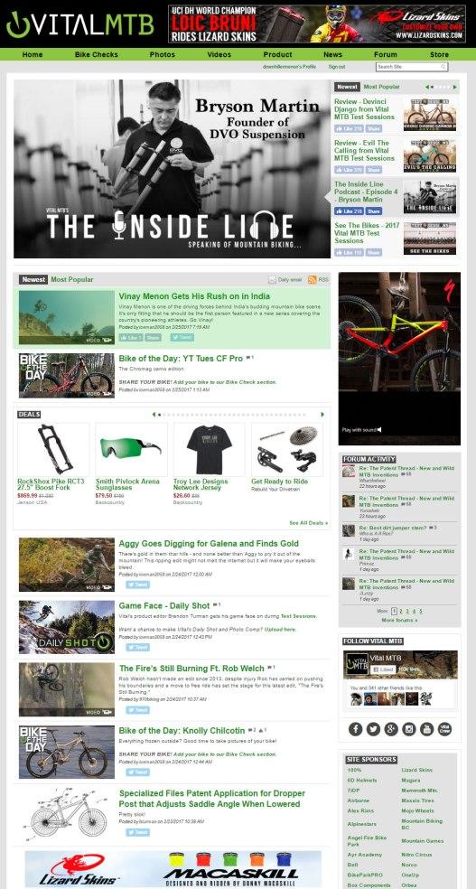 "The Vibe - ""RUSHES"" Featured on VitalMTB.com"