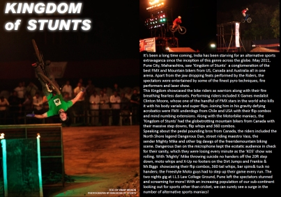 Write-up (KOS May 2011) | Freerider Mtn Bike Mag
