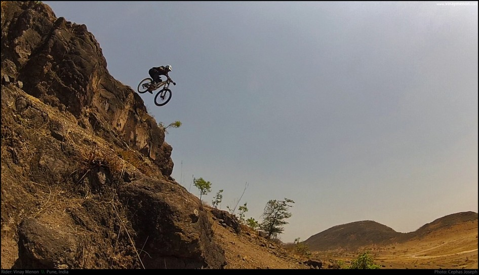 Rider: Vinay Menon | Photo: Cephas Joseph