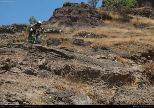 Rider: Piyush Chavan | Photo: Cephas Joseph