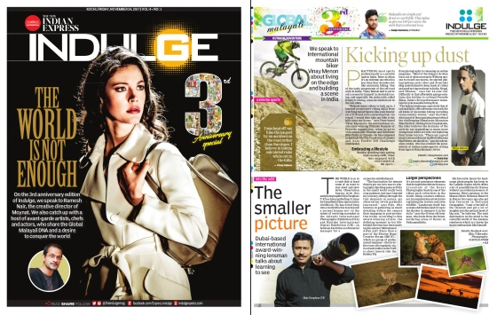 The New Indian Express - Indulge - 24th November 2017