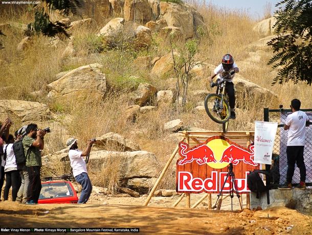 Vinay Menon_Bangalore Mountain Festival 2018 - Balls of Steel Downhill Race (5)