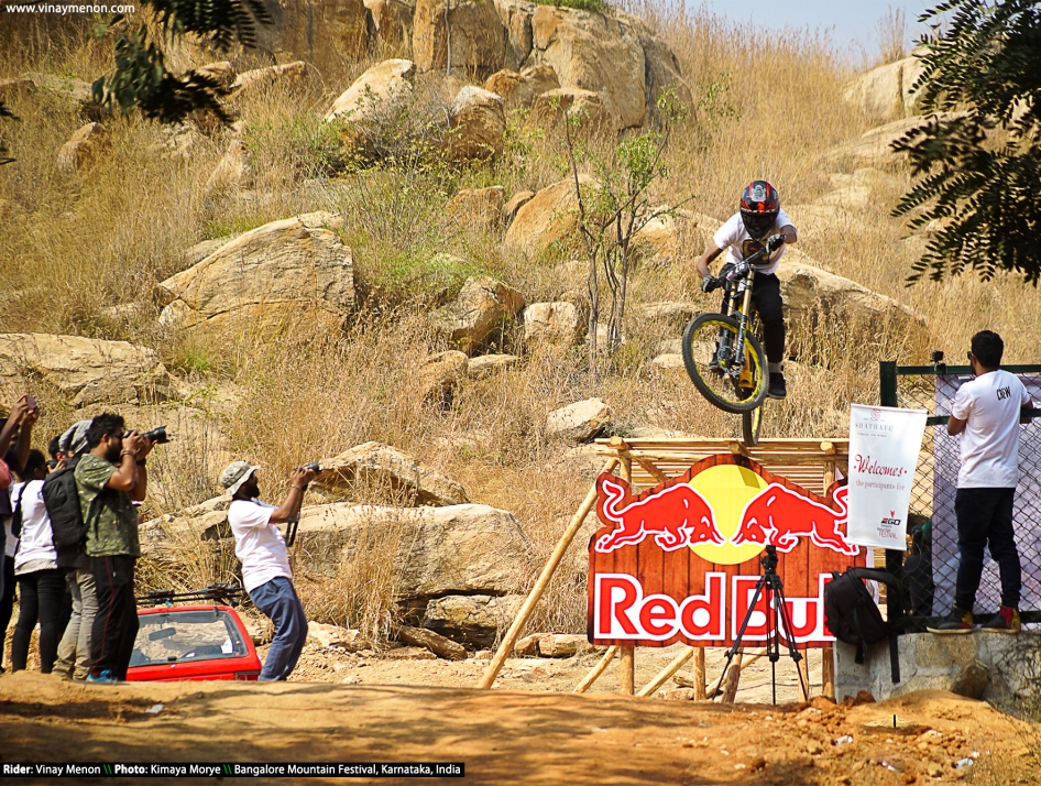 Vinay Menon_Bangalore Mountain Festival 2018 - Balls of Steel Downhill Race (5)