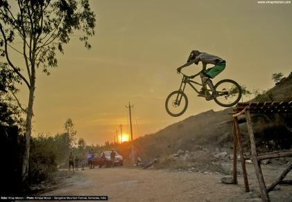 Vinay Menon_Bangalore Mountain Festival 2018 - Balls of Steel Downhill Race (6)