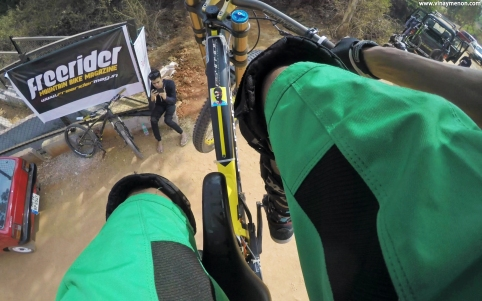 Vinay Menon_Bangalore Mountain Festival 2018 - Balls of Steel Downhill Race (7)